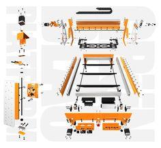 Grunblau Platform CNC Parts Bundle   CNCRouterParts