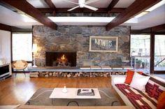 Sleek Midcentury Modern Lake House Blends With Hudson Valley