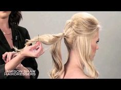 How To: Messy Updo - YouTube