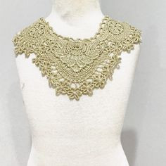 You can use this to accent your handmade tops/shirts. Would look amazing on handmade baby boho rompers or sunsuits!! Its a vintage piece, so the fabrication content is unknown.  Please see pictures for measurements.  **Please keep in mind that these trims are vintage, one of a kind, items. If there are rhinestone or studs sewn or studded on, some of them might be missing or loose. Thats the nature of vintage pieces. Just makes them unique! **