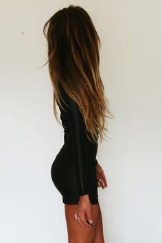 cabello largo mujer