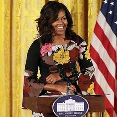 You showed us #women can be #beautiful, #smart & #strong. ✨ We will miss your #elegant #style & will strive to keep your sense of #grace & #leadership. 🍃 We will follow your advice & #takethehighroad. Thank you #michelleobama! 🌼🌿 . . . #thankyouobama #flotus #obama #womensmarch #womensmarchCHI #womensmarchchicago #mourninginamerica #woman #firstlady #girlpower #workingwomen #inspiration #obamafamily #instyle #womensfashion #fashionicon #fashionicons #styleicon #naturalbeauty