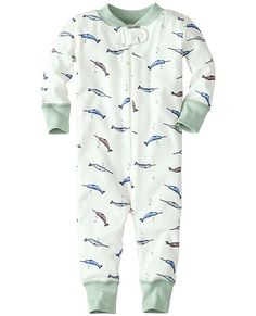 Night Night Baby Sleepers In Pure Organic Cotton by Hanna Andersson. Omg the narwhals are absolutely precious! Definitely my next purchase for baby P.