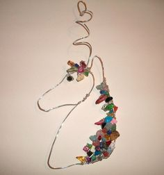Rainbow Horse Ornament  Free Shipping when ordering by BirdysNest, $25.00