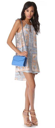 Rebecca Minkoff Cerulean Blue Mini Affair Bag