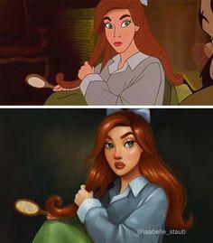 Anastasia (Now is Disney) by Isabelle Staub ( Disney Fan Art, Disney Pixar, Disney E Dreamworks, Disney Rapunzel, Disney Love, Disney Artwork, Humanized Disney, Punk Disney, Disney Xd