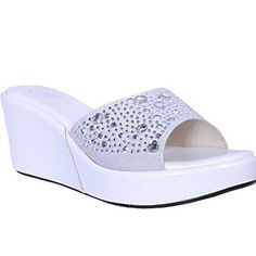 731c0fdc146f White Wedge Slippers