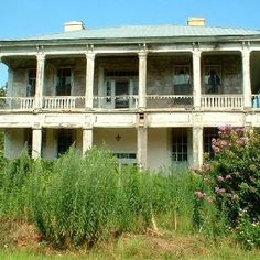 Abandoned plantation and manor home-Cuthbert,Ga