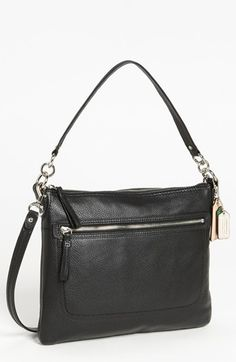 COACH Poppy - Perri Hippie Leather Crossbody Bag, Medium available at #Nordstrom