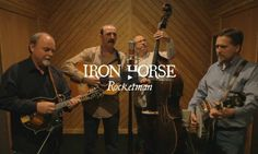 There are some space songs that we never outgrow. Elton John's 'Rocketman' is one of them. Now you can hear (and see) a spectacular bluegrass take on the classic by Iron Horse, a bluegrass band based in Killen, Alabama.