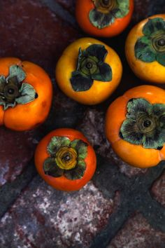 Persimmons by Lemon Fire Brigade-this is one of my favorite fruits.