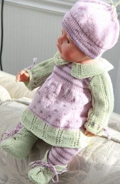 Baby Knitting Patterns Cardigan Puppet knitting pattern for your doll to print Baby Knitting Patterns, Baby Clothes Patterns, Baby Patterns, Clothing Patterns, Crochet Patterns, Doll Patterns, Knitting Dolls Clothes, Ag Doll Clothes, Crochet Doll Clothes
