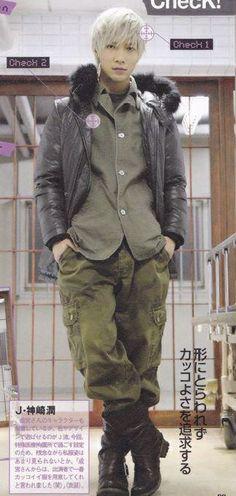 Narimiya Hiroki --  I like him as a blonde!