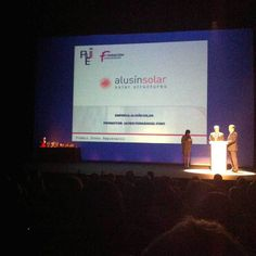 Premios AJE Asturias 2014 AJE Joven Empresario Alusín Solar