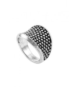 LAGOS Jewelry Signature Caviar Sterling Silver Beaded Ring | LAGOS.com