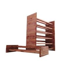 Two-Tier Aromatic Cedar Shoe Rack, A122 at The Home Depot - Mobile