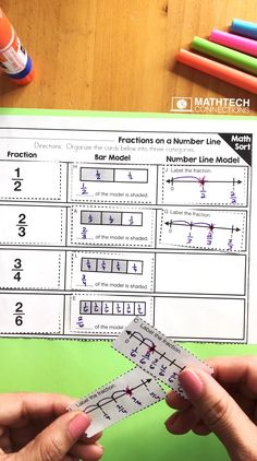 Free fractions on a number line activity for third grades. Cut and paste math sort. You are in the right place about Teacher Resources organization Here we offer you the most beautiful pictures about 3rd Grade Fractions, 4th Grade Math Worksheets, Teaching Fractions, Fractions Worksheets, Fourth Grade Math, Math Fractions, Math Resources, Teaching Math, Adding Fractions