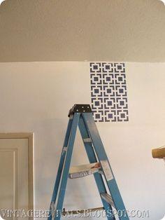 Wall Stenciling 101 - Vintage Revivals
