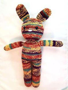 e4d51701a0cba5 Large crochet bunny Amigurumi Bunny crochet rabbit Crochet Rabbit