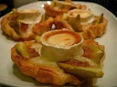 Tarteletes de figo com queijo de cabra