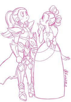 """""""How about a world where the loyal and brave guard💂 secretly loves his beautiful and pure princess👸?😮💕💕 Pd: I don't know how to draw armor. Character Art, Character Design, Steven Universe Memes, Pokemon, Fanart, Cute Art, Art Drawings, Homestuck, Kawaii"""