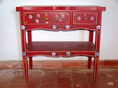 Traditional furniture from Alentejo Decor, Furniture, Painted Furniture, Vanity, Home Decor