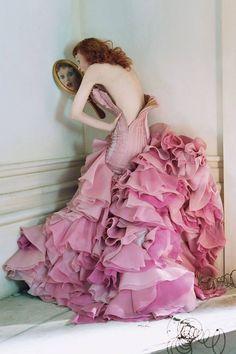 Tim Walker #photography for Vogue  Think #pink