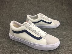 STYLE 36 skateboard shoes white deep blue right Zhi Long GD section of the  public section. Vans ... dee775527