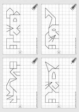 Kindergarten Worksheets, Worksheets For Kids, Visual Perception Activities, Perspective Drawing Lessons, Math Division, Math Art, First Grade Reading, Homeschool Math, Home Schooling