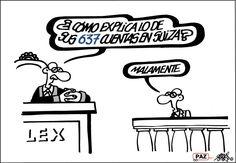 Viñeta: Forges - 2 SEP 2013 | Opinión | EL PAÍS H Comic, Humor Grafico, Embedded Image Permalink, Funny, English, Smile, Blog, Founding Fathers, Sarcasm