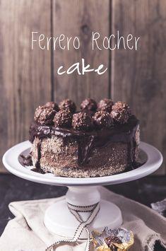 Ferrero Rocher, Cookie Desserts, Chocolate, Nutella, Frosting, Cookies, Cream, Baking, Cheesecake