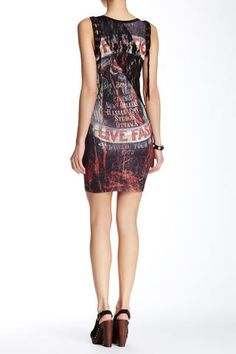 platinum-finds ~ Products ~ Affliction Hollow Point Dress