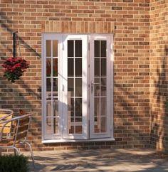 External French Doors, External Doors, Front Doors, Windows And Doors, Door Sets, Chrome Handles, Polished Chrome, Contemporary Design, Stairs