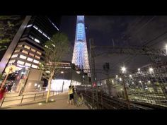 TOKYO SKY TREE. New Light of Tokyo.  An amazing video by darwinfish105 on YouTube