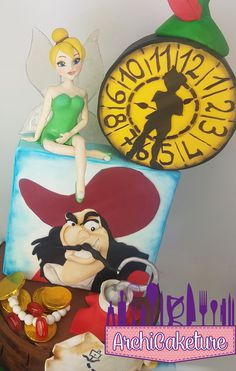 PETER PAN CAKE BY ARCHICAKETURE