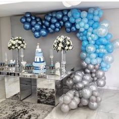Baby shower ides for boys cars themed birthday parties 35 Ideas for 2019 Baby Shower Table, Shower Party, Baby Shower Parties, Baby Shower Themes, Balloon Decorations, Birthday Party Decorations, Birthday Parties, Baby Boy Birthday, Shower Banners