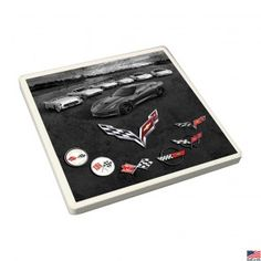 Seven Generations of Corvette Coaster