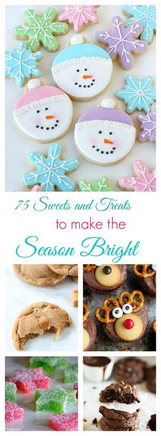 75 Sweets and Treats for the Holidays! Find all o your easy Christmas desserts and Thanksgiving desserts in one easy spot!
