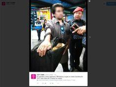 m.e-consulta.com | Capturan en el Metro a un sujeto que llevaba una serpiente pitón | Periódico Digital de Noticias de Puebla | México 2015