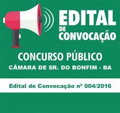 NONATO NOTÍCIAS: Câmara de Sr. do Bonfim publica quarto edital e co...