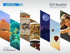 AIESEC in Mansoura IGV booklet Winter edition