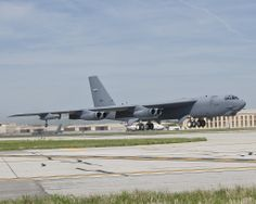 USAF Boeing B-52H Stratofortress.