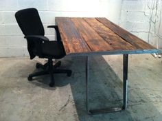Shop writing desks at Chairish, the design lover's marketplace for the best vintage and used furniture, decor and art. Loft Furniture, Writing Desk, Dining Table, Rustic, Design, Home Decor, Country Primitive, Desktop, Decoration Home