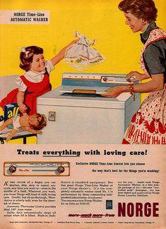 Norge Washing Machine Ad