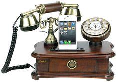 Pyle Retro Rotary Smartphone Stations