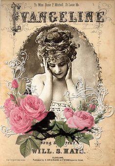 Sheet music cover art