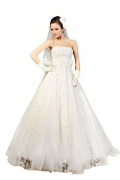 Passat Women's Big Train Princess Wedding Dress Size US2 Color White Wedding Dresses 2014, Wedding Dress Sizes, Modest Wedding, Wedding Preparation List, Cheap Formal Dresses, Princess Wedding, One Shoulder Wedding Dress, Ball Gowns, Bridal
