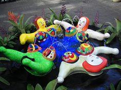 La fontaine des femmes Niki de Saint Phalle, 1998 Le Jardin des Tarots, Capalbio, Toscane, Italie #consultante_lactation