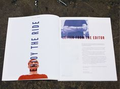 BOLD Magazine by Maximilian Huber, via Behance