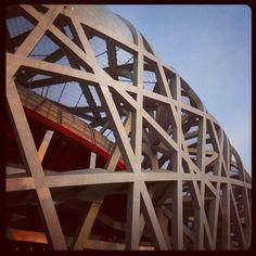 National Stadium Beijing #architecture #china #beijing